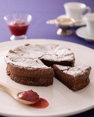 ガトー・ショコラ イチゴと紅茶のコンフィチュール