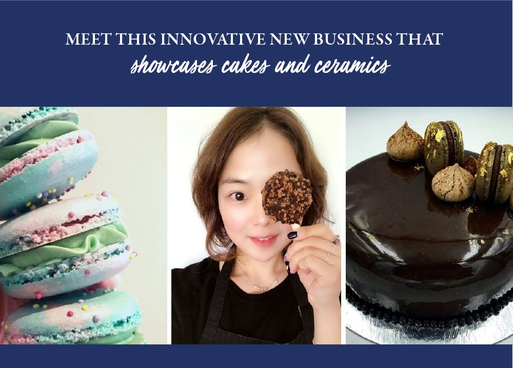 Pastry Chef & Artist Jeongmin Sylvester, owner of online pâtisserie Sincerely, Cake, is opening a retail space designed to showcase her exquisite cakes and handmade ceramics - proving that dreams can still come true during challenging times.