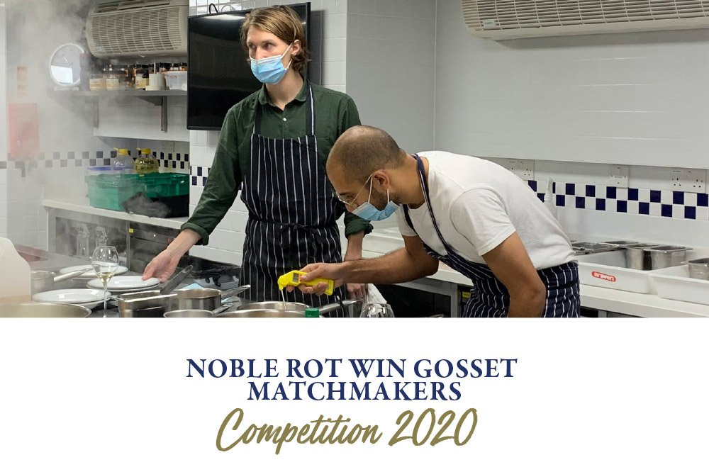 Noble Rot win Gosset Matchmakers Competition 2020