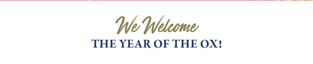 Welcome to the year of the OX!