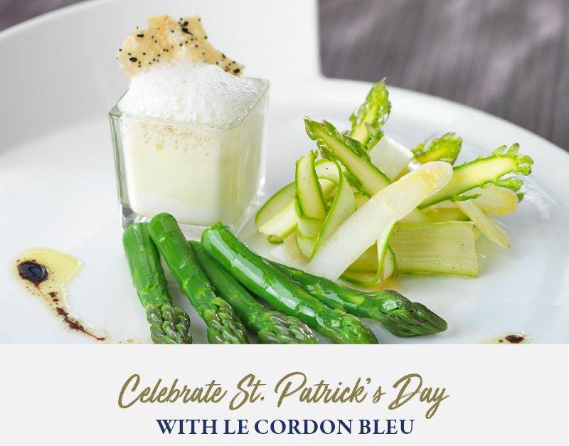 Celebrate St. Patrick's Day with Le Cordon Bleu