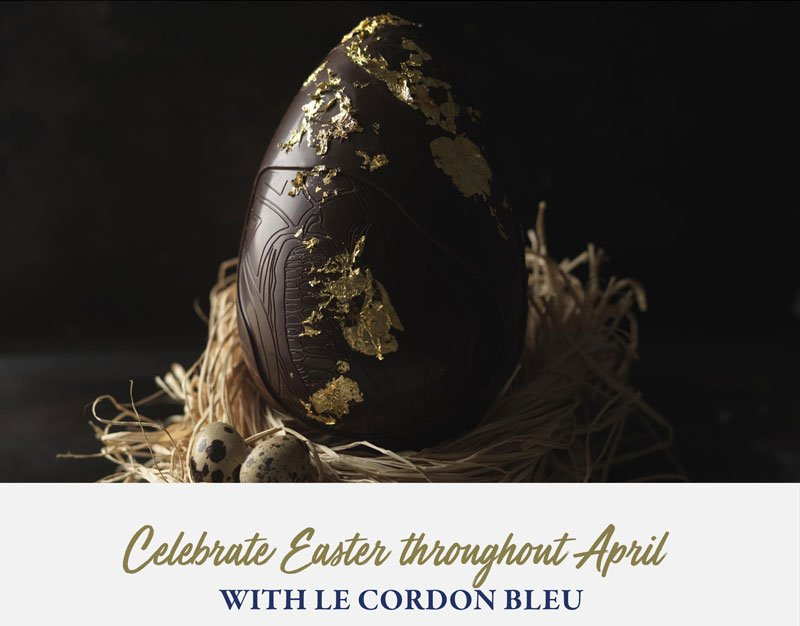 Celebrate Easter throughout April with Le Cordon Bleu