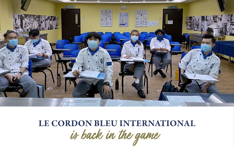 Le Cordon Bleu International is back in the game