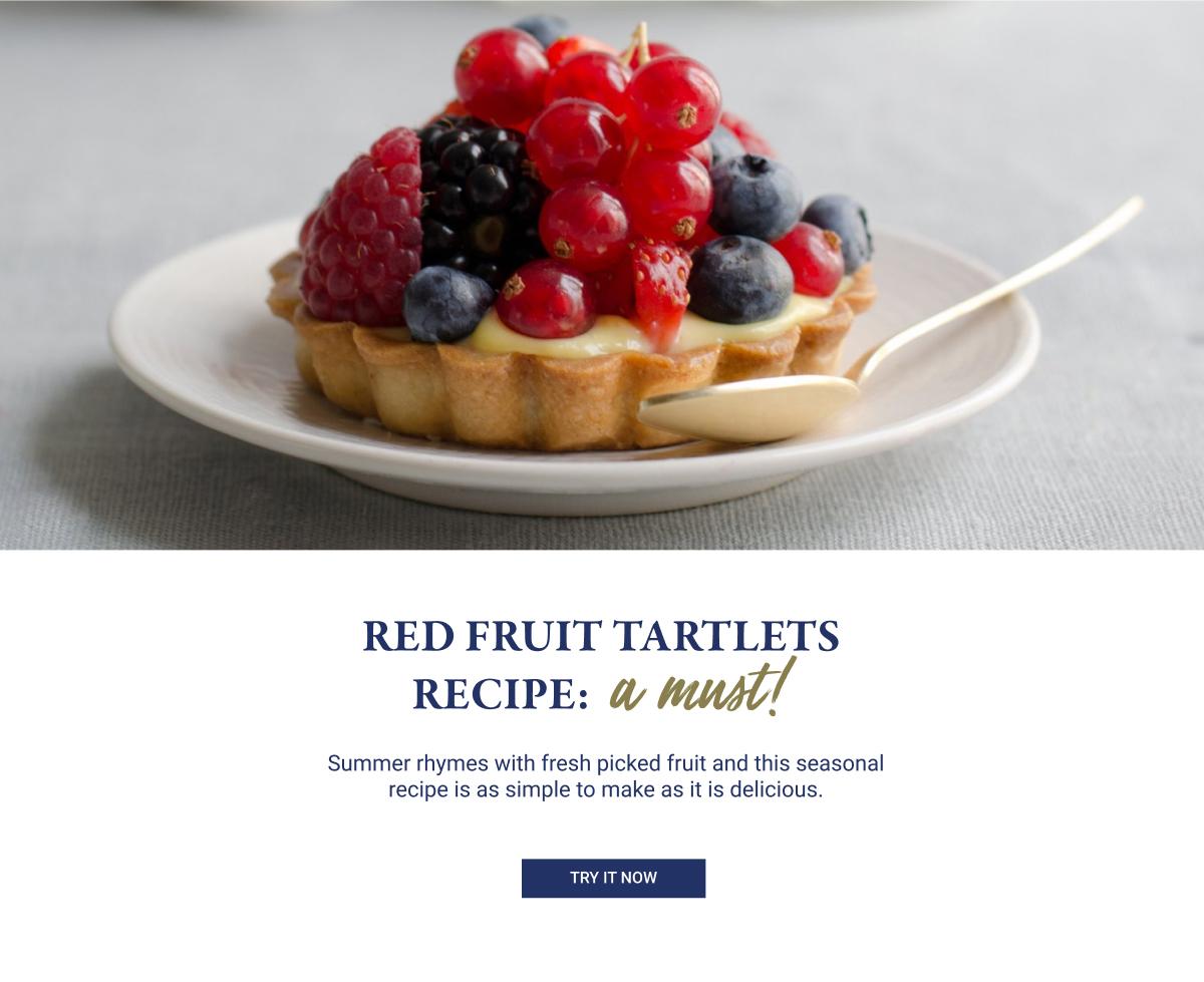 Red Fruit Tartlets