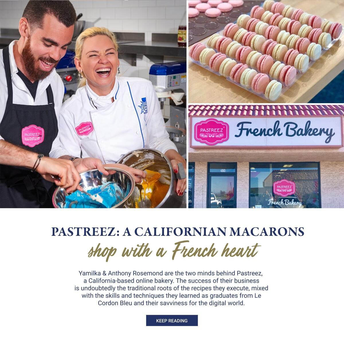 Pastreez: A Californian macarons